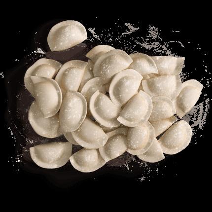 Вагові вареники з картоплею